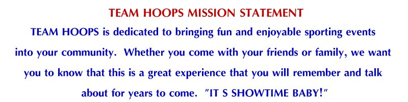 TeamHoopsMissionStatement